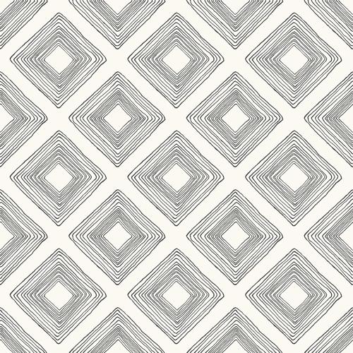 ME1579 York Wallcoverings Joanna Gaines Magnolia Home 2 Diamond Sketch Wallpaper White