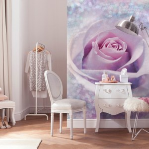 Brewster Wallcoverings Komar Into Illusions 2 Mystic Rose Mural Room Setting
