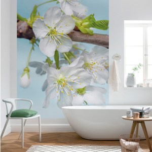 Brewster Wallcoverings Komar Into Illusions 2 Blossom Mural Room Setting