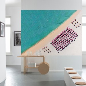 Brewster Wallcoverings Komar Into Illusions 2 South Beach Mural Room Setting