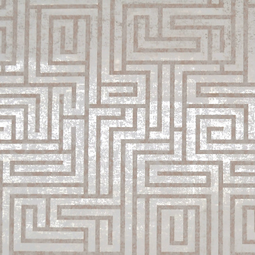 Y6220201 York Wallcoverings Mid Century A-Maze Wallpaper White