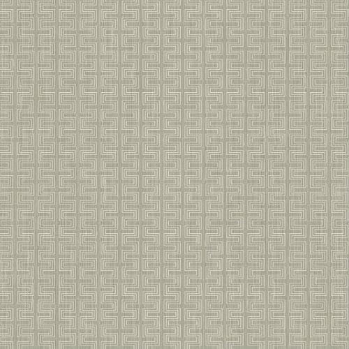 ZN51803 Seabrook Wallcoverings Texture Anthology Etten Geometric Wallpaper Gray