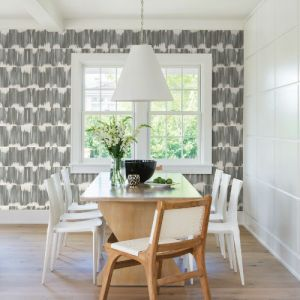 2764-24346 Brewster Wallcovering Mistral Serendipity Shibori Wallpaper Room Setting