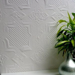 437-RD0655 Brewster Wallcovering Anaglypta XII Seymour Paintable Wallpaper