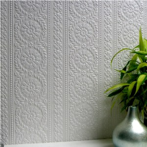 437-RD340 Brewster Wallcovering Anaglypta XII Townsend Paintable Wallpaper