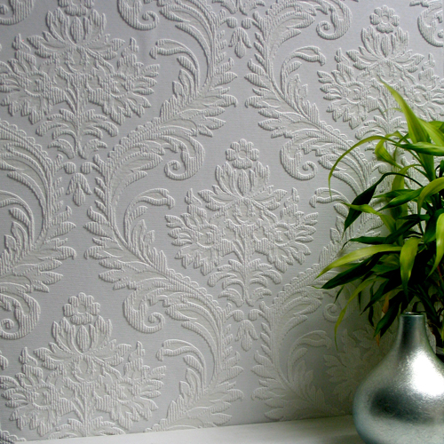 Brewster Wallcovering Anaglypta XII High Trad Paintable Wallpaper