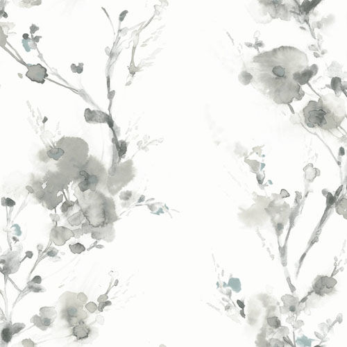 CP1201 York Wallcovering Candice Olson Breathless Charm Wallpaper Grey