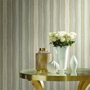 CP1209 York Wallcovering Candice Olson Breathless Festival Wallpaper Room Setting