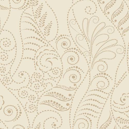 CP1268 York Wallcovering Candice Olson Breathless Modern Fern Wallpaper Cream
