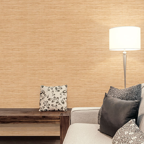 Patton Wallcovering Wall Finishes Grasscloth Wallpaper Room Setting