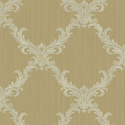 KT90105 Wallquest Wallcovering Online Only Classique Frame Wallpaper Antique Gold