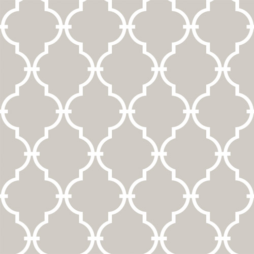 RMK11289WP York Wallcovering Roommates Modern Trellis Peel and Stick Wallpaper Beige
