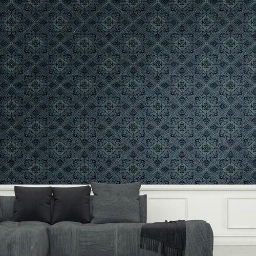 Ironwork Harlequin Wallpaper By Seabrook Lelands Wallpaper