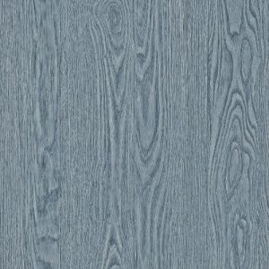 2767-003375 Brewster Wallcovering Techniques and Finishes 3 Remi Wood Wallpaper Blue