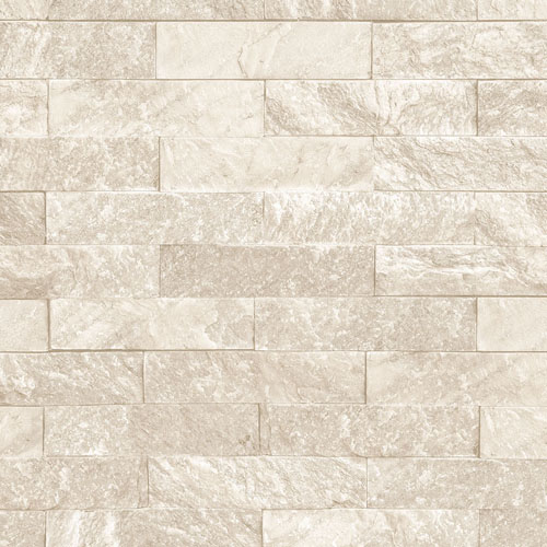 CK36624 Patton Wallcoverings Creative Kitchens Slim Stacked Stone Wallpaper Beige