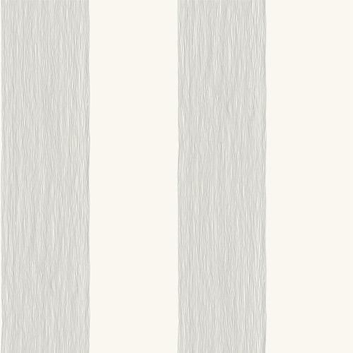 Mk1117 York Wallcoverings Joanna Gaines Magnolia Home 3 Artful Prints and Patterns Thread Stripe Wallpaper Black