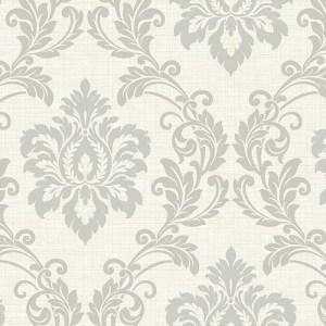 2765-BW40108 Brewster Wallcovering Kenneth James Geo Tex Adela Twill Damask Wallpaper Ivory