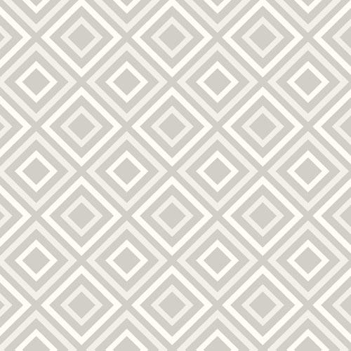 2809-87703 Brewster Wallcovering Advantage Geo Horus Diamond Geo Wallpaper Silver