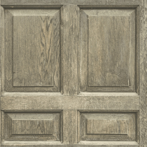DI4749 York Wallcovering Dimensional Artisty Front Door Wallpaper Brown