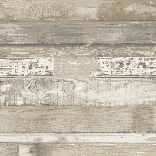 FH37556 Patton Wallcovering Norwall Farmhouse Living Beachwood Wallpaper Brown