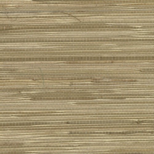 2732-65437 Brewster Wallcovering Kenneth James Canton Road Grasscloth Taizhou Grasscloth Wallpaper Blue