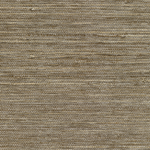 2732-80038 Brewster Wallcovering Kenneth James Canton Road Grasscloth Liaohe Grasscloth Wallpaper Bronze