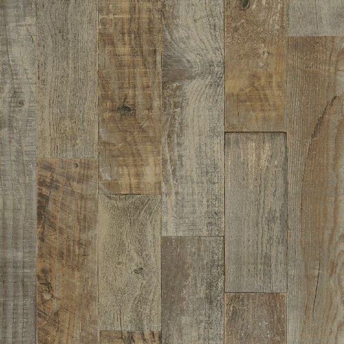 3118-12693 Brewster Wallcovering Chesapeake Birch and Sparrow Chebacco Wooden Planks Wallpaper Brown