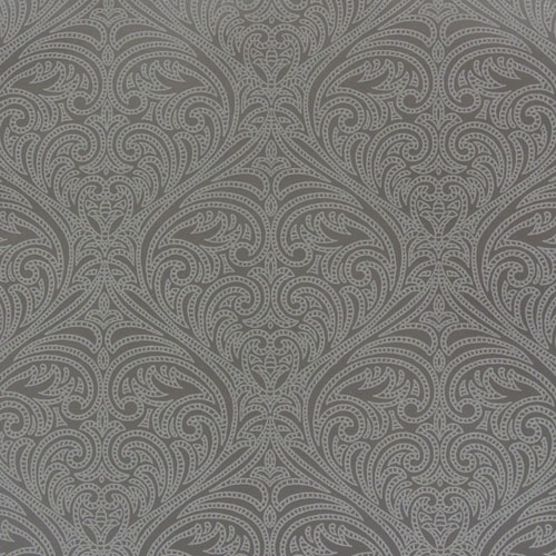 OL2775 York Wallcovering Candice Olson Journey Romance Damask Wallpaper Grey