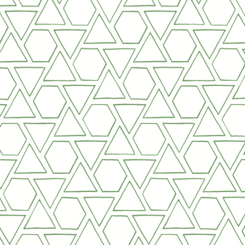 MB30104 Seabrook Wallcovering Beach House Sun Shapes Wallpaper Greenery