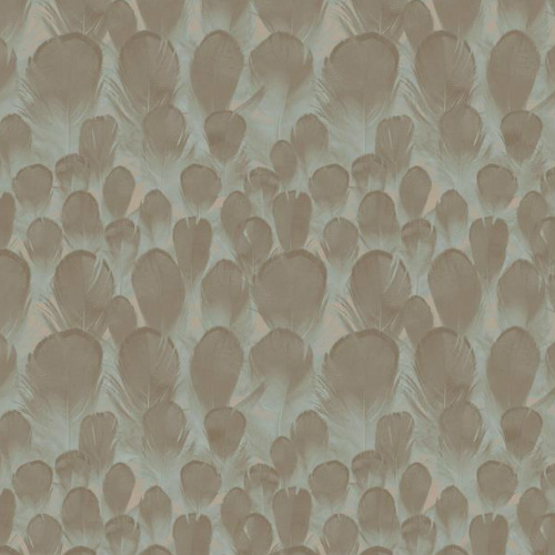 Y6230104 York Wallcovering Antonina Vella, Natural Opalescence Feathers Wallpaper Lavender