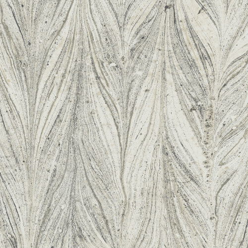 Y6230802 York Wallcovering Antonina Vella Natural Opalescence Ebru Marble Wallpaper Cool Grey