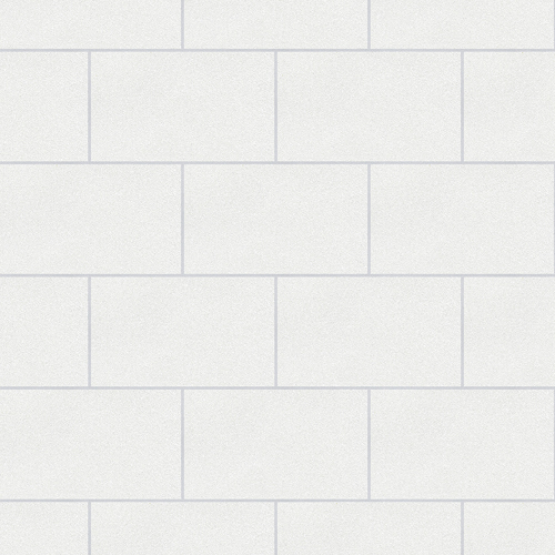 2814-M1054 Brewster Wallcovering Advantage Bath Neale Subway Tile Wallpaper White