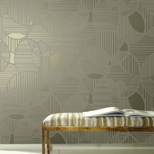 TL6117 York Wallcovering Design Digest Inner Circle Wallpaper Room Setting