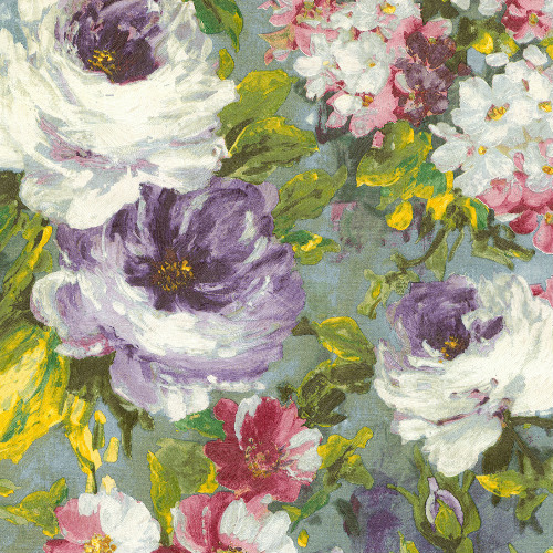 2835-SY5113P Brewster Wallcovering Advantage Deluxe Macau Painterly Floral Wallpaper Multi-color