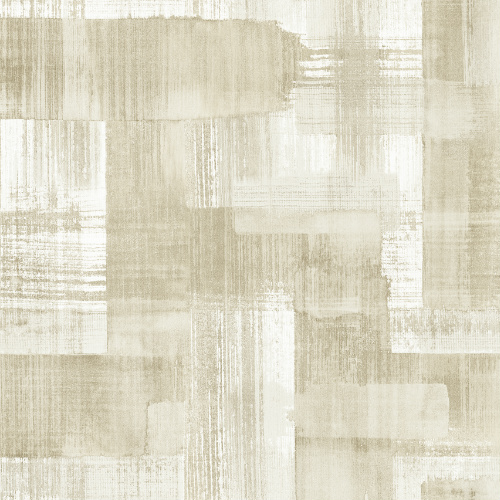 2889-25229 Brewster Wallcovering A Street Prints Terence Conran Plain Simple Useful Trosa Brushstroke Wallpaper Beige