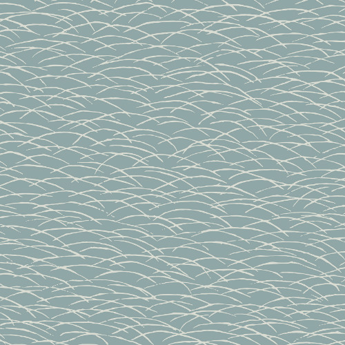 2889-25242 Brewster Wallcovering A Street Prints Terence Conran Plain Simple Useful Hono Abstract Wave Wallpaper Blue