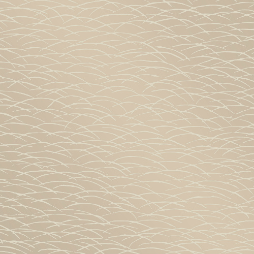 2889-25243 Brewster Wallcovering A Street Prints Terence Conran Plain Simple Useful Hono Abstract Wave Wallpaper Beige