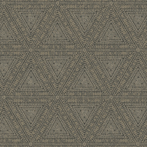 NR1512 York Wallcovering Norlander Norse Tribal Wallpaper Brown