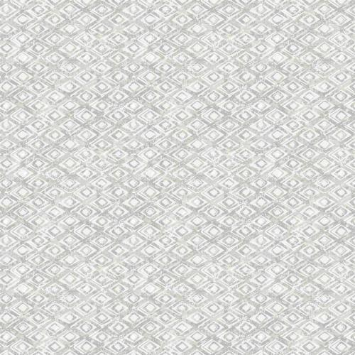 2838-IH2205 Brewster Wallcovering Decorline Vista Delilah Diamond Wallpaper Light Grey