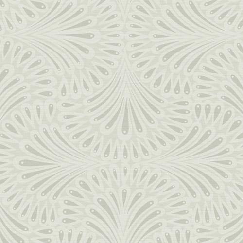 CA1504 York Wallcovering Antonina Vella Deco Cabaret Wallpaper Grey