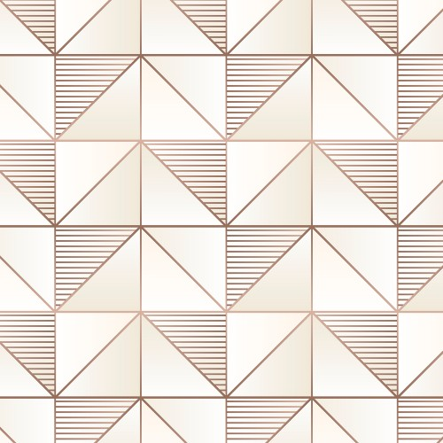GX37629 Patton Wallcovering Norwall GeometriX Cubist Wallpaper Rose