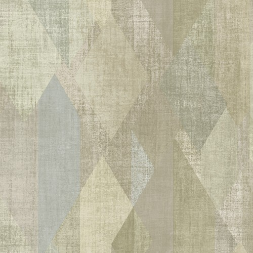 GX37639 Patton Wallcovering Norwall GeometriX Glass Shards Wallpaper Olive