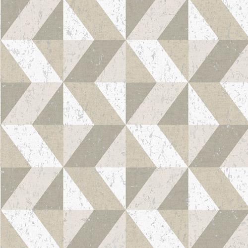2908-25313 Brewster Wallcovering A Street Prints Alchemy Cerium Concrete Geometric Wallpaper Neutral