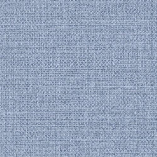 BV30302 Seabrook Wallcovering Texture Gallery Woven Raffia Wallpaper Light Blue