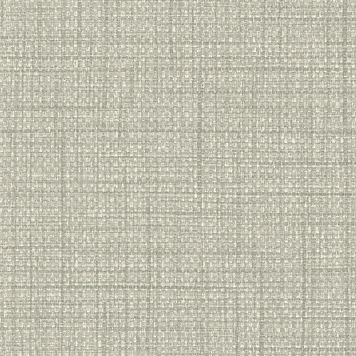 BV30308 Seabrook Wallcovering Texture Gallery Woven Raffia Wallpaper Light Pewter