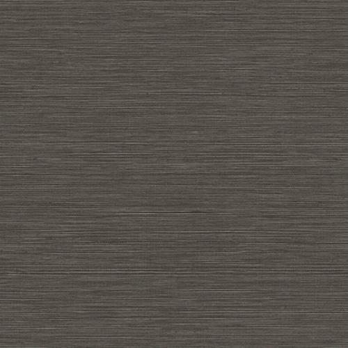 BV35400 Seabrook Wallcovering Texture Gallery Coastal Hemp Wallpaper Black Pepper