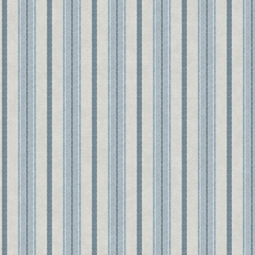 SR1549 York Wallcovering Stripes Resource Library Shirting Stripe Wallpaper Blue Putty