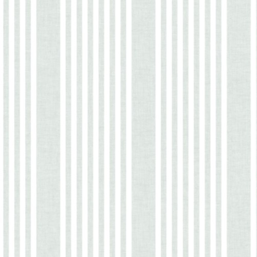 SR1583 York Wallcovering Stripes Resource Library French Linen Stripe Wallpaper Green