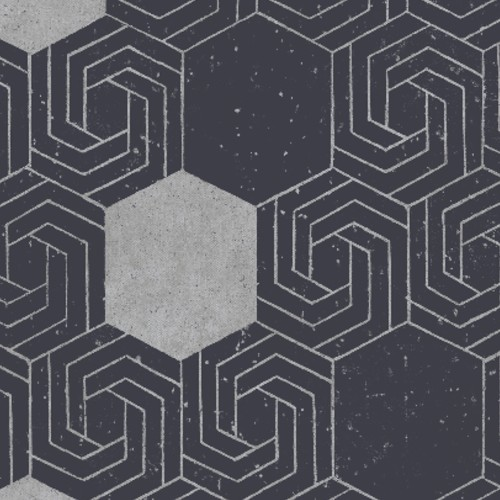 2902-25547 Brewser Wallcovering A Street Prints Theory Momentum Geometric Wallpaper Navy