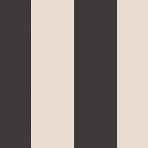 SH34545 Patton Wallcovering Norwall Simply Stripes 3 Wide Stripe Wallpaper Black